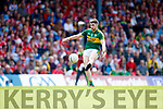 Paul Geaney Kerry in action against  Cork in the Munster Senior Football Final at Fitzgerald Stadium on Sunday.