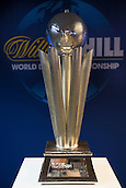 13.06.2014. London, England.  Rileys Sports Bar, Haymarket. The Sid Waddell Trophy at the launch of William Hill's sponsorship as title sponsor of the 2015 World Darts Championship.
