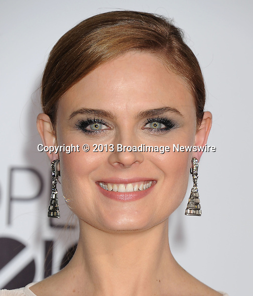 Pictured: Emily Deschanel<br /> Mandatory Credit &copy; Gilbert Flores/Broadimage<br /> 2014 People's Choice Awards<br /> <br /> 1/8/14, Los Angeles, California, United States of America<br /> <br /> Broadimage Newswire<br /> Los Angeles 1+  (310) 301-1027<br /> New York      1+  (646) 827-9134<br /> sales@broadimage.com<br /> http://www.broadimage.com