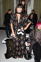 Grace Woodward<br /> at the Jasper Conran AW17 show as part of London Fashion Week AW17 at Claridges, London.<br /> <br /> <br /> &copy;Ash Knotek  D3230  17/02/2017