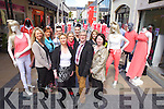 Officially launching the forthcoming 'Tralee Fashion District Show & Entertainment Festival' taking next Saturday 1st of June. Pictured were: Erin Ronan (Jack and Jones), Tanya Raymond (IOTA), Danny Leane (Annbury's), Eileen O'Mahony (Michael Guineys), Gillian Riordan (Pamela Scotts), David O'Carroll (DV8), Edwina O'Driscoll (Vera Moda), Aine Moriarty (Boots) and Grace Flynn (Carrig Donn).