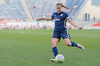 Bridgeview, IL, USA - Sunday, May 29, 2016: Sky Blue FC defender Christie Rampone (3) during a regular season National Women's Soccer League match between the Chicago Red Stars and Sky Blue FC at Toyota Park. The game ended in a 1-1 tie.