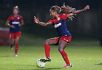 Boyds, MD - Friday Sept. 30, 2016: Francisca Ordega during a National Women's Soccer League (NWSL) semi-finals match between the Washington Spirit and the Chicago Red Stars at Maureen Hendricks Field, Maryland SoccerPlex. The Washington Spirit won 2-1 in overtime.