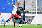 v.l. Sonny Kittel (HSV), Emanuel Taffertshofer<br />Hamburg, 28.06.2020, Fussball 2. Bundesliga, Hamburger SV - SV Sandhausen<br />Foto: VWitters/Witters/Pool//via nordphoto<br /> DFL REGULATIONS PROHIBIT ANY USE OF PHOTOGRAPHS AS IMAGE SEQUENCES AND OR QUASI VIDEO<br />EDITORIAL USE ONLY<br />NATIONAL AND INTERNATIONAL NEWS AGENCIES OUT