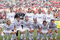 Real Madrid starting eleven in the Real Madrid 2-0 win over Real Salt Lake at Rice Eccles Stadium in Salt Lake City, Utah August 12, 2006