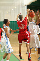 April 8, 2011 - Hampton, VA. USA; Zachary Banner participates in the 2011 Elite Youth Basketball League at the Boo Williams Sports Complex. Photo/Andrew Shurtleff