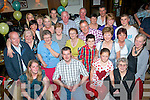 5552-5556.---------.Ring of Diamonds.----------------.Tralee couple about to get married are Kathleen O'Riordan,Ballymac and Kevin Foran,Cois Abhann(seated 1st and 2nd from the Lt)celebrated their engagement in Gally's bar/restaurant,Tralee last Saturday night with many family and friends..-------------------------------------------------------------------------------------------------------.
