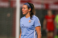 Piscataway, NJ - Sunday Sept. 25, 2016: Erin Simon during a regular season National Women's Soccer League (NWSL) match between Sky Blue FC and the Portland Thorns FC at Yurcak Field.