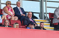 Blackpool owner Owen Oysten watches on from the stands<br /> <br /> Photographer Alex Dodd/CameraSport<br /> <br /> The EFL Sky Bet League One - Rotherham United v Blackpool - Saturday 5th May 2018 - New York Stadium - Rotherham<br /> <br /> World Copyright &copy; 2018 CameraSport. All rights reserved. 43 Linden Ave. Countesthorpe. Leicester. England. LE8 5PG - Tel: +44 (0) 116 277 4147 - admin@camerasport.com - www.camerasport.com