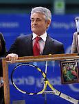 TENIS, BEOGRAD, 22. Feb. 2010. - Vlasnik Gemax-a Djordjo Antelj. Srpski teniser Viktor Troicki osvojio je MTS Open 2009. savladavsi u finalu Slovaka Dominika Hrbatija sa 2:0, po setovima 6:4, 6:2. Foto: Nenad Negovanovic
