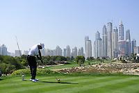 Tiger Woods (USA) Dubai Desert Classic