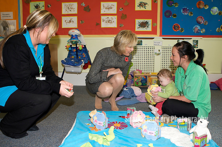 Pix: Shaun Flannery/shaunflanneryphotography.com...COPYRIGHT PICTURE>>SHAUN FLANNERY>01302-570814>>07778315553>>..29th October 2009.............Doncaster Deaf Trust - Official opening of the redeveloped Little Learners Day Nursery by HRH The Countess of Wessex.