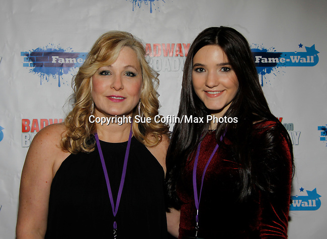 Alyssa Melani & Beverly Lynch- New Year's Eve 2016 and Times Square Ball Drop at The Copacabana, New York City, New York. (Photo by Sue Coflin/Max Photos)  suemax13@optonline.net