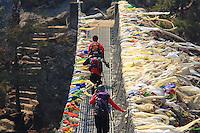 Day 002 Everest Base Camp Trek - Phakding to Namche Bazaar