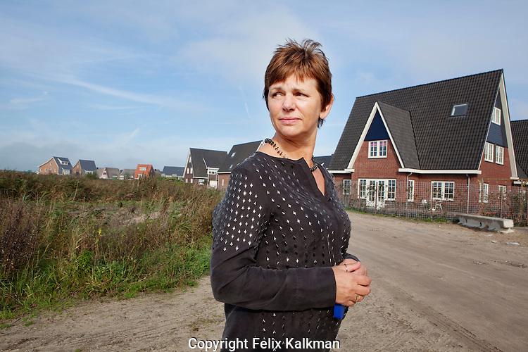 Alphen ad Rijn, 7 oktober 2010.Bouwfonds NAW.Mijn moment van Mieke van Kempen, locatiemanager.Locatie Burggooi, Alphen ad Rijn.Foto Felix Kalkman