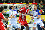 Pucelj (6), Vori (9) & Gaber (22). SLOVENIA vs CROATIA: 26-31 - Bronze Medal Match.