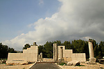 Israel, Upper Galilee, Nevoraya Synagogue in Biria forest