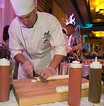 Chef Dave Holman during the Nevada Diabetes Associations 4th Annual Winter Wonderland on Thursday, Feb. 27, 2020 at Atlantis Resort Casino Spa in Reno.