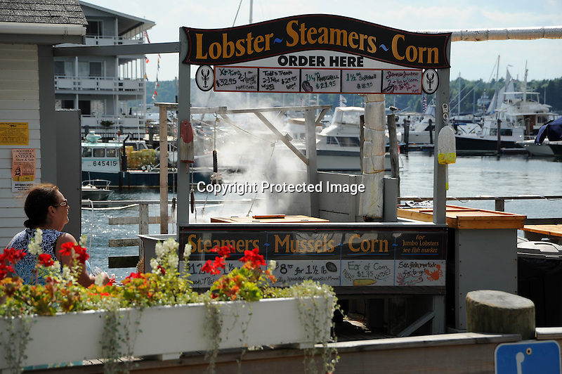 Lobsters, Steamers, and Corn in Maine, USA