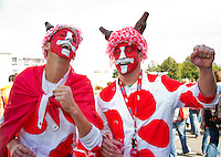 15-09-12, Netherlands, Amsterdam, Tennis, Daviscup Netherlands-Suisse, Suisse supporters