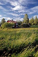 Schweden, Provinz Dalarna, Schwedisches Wohnhaus | Sweden, Province Dalarna, Swedish wooden house