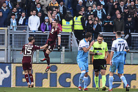 Andrea Belotti Torino celebrates after scoring a goal on penalty.<br /> Roma 29-12-2018 Stadio Olimpico<br /> Football Calcio Campionato Serie A<br /> 2018/2019 <br /> Lazio - Torino<br /> Foto Antonietta Baldassarre / Insidefoto