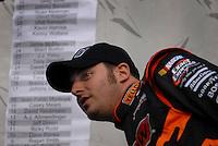 May 5, 2007; Richmond, VA, USA; Nascar Nextel Cup Series driver Johnny Sauter (70) prior to the Jim Stewart 400 at Richmond International Raceway. Mandatory Credit: Mark J. Rebilas
