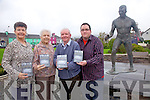 At the launch of the Casey Brothers DVD in Sneem on Friday last were l-r; Patricia Curtin, Myrtle Casey, Christy & Anthony Reardon.