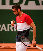 MARIN CILIC (CRO)<br /> <br /> TENNIS - FRENCH OPEN - ROLAND GARROS - ATP - WTA - ITF - GRAND SLAM - CHAMPIONSHIPS - PARIS - FRANCE - 2018  <br /> <br /> <br /> <br /> &copy; TENNIS PHOTO NETWORK
