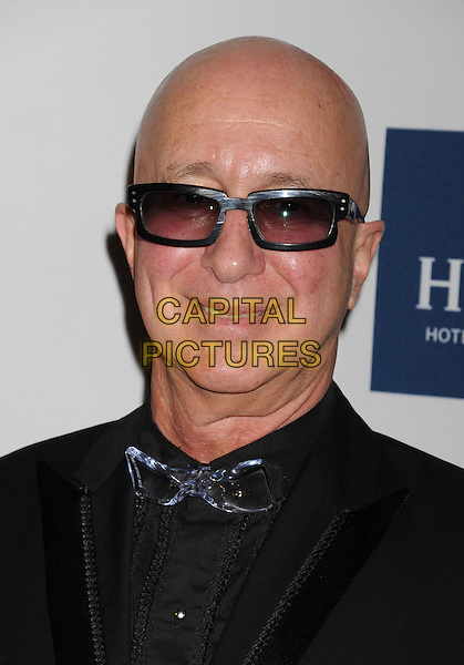 Paul Shaffer.The Clive Davis and The Recording Academy's 2012 Pre-GRAMMY Gala and Salute to Industry Icons at the Beverly Hilton Hotel in Beverly Hills, California, USA..February 11th, 2012.headshot portrait black sunglasses shades bow tie.CAP/ROT/TM.©Tony Michaels/Roth Stock/Capital Pictures