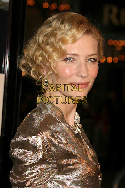 "CATE BLANCHETT.Paramount Vantage Presents Special Screening of ""Babel"" at Mann's Village Theatre, Westwood, California, USA..November 5th, 2006.Ref: ADM/BP.headshot portrait .www.capitalpictures.com.sales@capitalpictures.com.©Byron Purvis/AdMedia/Capital Pictures."