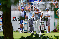 Harold Varner III (USA) watches his tee shot on 10 during Saturday's round 3 of the World Golf Championships - Bridgestone Invitational, at the Firestone Country Club, Akron, Ohio. 8/5/2017.<br /> Picture: Golffile | Ken Murray<br /> <br /> <br /> All photo usage must carry mandatory copyright credit (&copy; Golffile | Ken Murray)