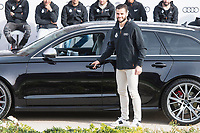 Nacho Fernandez of Real Madrid CF poses for a photograph after being presented with a new Audi car as part of an ongoing sponsorship deal with Real Madrid at their Ciudad Deportivo training grounds in Madrid, Spain. November 23, 2017. (ALTERPHOTOS/Borja B.Hojas) /NortePhoto.com NORTEPHOTOMEXICO