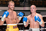 Sam Barron vs Michal Ciach 4x3 - Light Heavyweight Contest During Goodwin Boxing - Date With Destiny. Photo by: Simon Downing.<br /> <br /> Saturday September 23rd 2017 - York Hall, Bethnal Green, London, United Kingdom.
