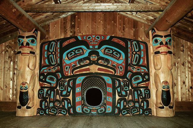 NWTL-099 Pacific Coast Northwest Indian Plank House on pacific northwest indian pit house, native american pit house, pacific northwest coast tlingit, pacific northwest coast native american clothing, pacific northwest coast shelters, north west coast indians house, tlingit plank house, pacific northwest coast native americans map,