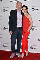 "NEW YORK - APRIL 30: (L-R) Noah Emmerich and Julianna Margulies attend the 2019 Tribeca Film Festival premiere of National Geographic's Three-Night Limited Series ""The Hot Zone"" which premieres Monday, May 27 at 9/8c. (Photo by Anthony Behar/National Geographic/PictureGroup)"