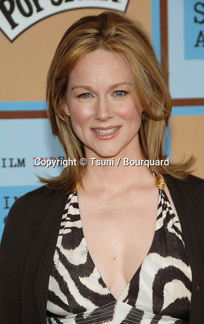 Laura Linney arriving at the 21th Independent Spirit Awards on Santa Monica Beach  in Los Angeles March 4th, 2006.
