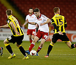 Ben Whiteman of Sheffield Utd  - English League One - Sheffield Utd vs Burton Albion - Bramall Lane Stadium - Sheffield - England - 1st March 2016 - Pic Simon Bellis/Sportimage