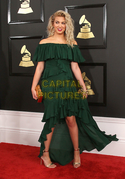 12 February 2017 - Los Angeles, California - Tori Kelly. 59th Annual GRAMMY Awards held at the Staples Center.  <br /> CAP/ADM<br /> &copy;ADM/Capital Pictures