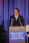 Democratic Vice Presidential nominee R. Sargeant Shriver makes his acceptance speech at the Democratic National Convention Special Session in Washington, D.C. on August 8, 1972.  Shriver takes the place of U.S. Senator Tom Eagleton (Democrat of Missouri) on the ticket with U.S. Senator George McGovern (Democrat of South Dakota)..Credit: Arnie Sachs / CNP
