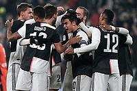 Paulo Dybala of Juventus celebrates with team mates after scoring a goal <br /> Torino 15/01/2020 Juventus Stadium <br /> Football Italy Cup 2019/2020 <br /> Round of 16 <br /> Juventus FC - Udinese <br /> Photo Federico Tardito / Insidefoto