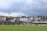 General view of play during Yorkshire CCC vs Essex CCC, Specsavers County Championship Division 1 Cricket at Scarborough CC, North Marine Road on 7th August 2017
