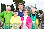 Running at the An Riocht/Kerry Autism fun run in Castleisland on Sunday was l-r: Tim O'Connor An Riocht, Mary O'Connor An Riocht, Gary Kavanagh Tralee, Sabrina Yeazle Annuscaul and Billy O'Brien An Riocht    Copyright Kerry's Eye 2008