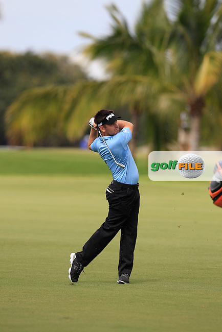 Louis Oosthuizen (RSA) during the 3rd round at the WGC Cadillac Championship, Blue Monster, Trump National Doral, Doral, Florida, USA<br /> Picture: Fran Caffrey / Golffile