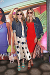 Sunglass Spokes Model and Mick Jagger Daughter Georgia May Jagger and Artist, Model, DJ an Daughter of  Keith Richards at the Sunglass Hut Electric Summer Campaign Kick-Off‏ Held at Industry Kitchen