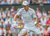 London, England, 3 th July, 2017, Tennis,  Wimbledon, Andy Murray (GBR) in his openings match against Alexander Bublik (KAZ)<br /> Photo: Henk Koster/tennisimages.com