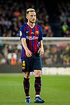 Ivan Rakitic of FC Barcelona in action during the La Liga match between Barcelona and Real Sociedad at Camp Nou on May 20, 2018 in Barcelona, Spain. Photo by Vicens Gimenez / Power Sport Images
