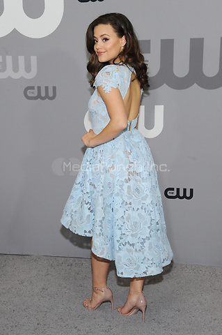 NEW YORK, NY - MAY 17: Sarah Jeffery at the 2018 CW Network Upfront at The London Hotel on May 17, 2018 in New York City. Credit: John Palmer/MediaPunch