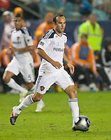CARSON, CA - November 20, 2011: LA Galaxy midfielder Landon Donovan (10) during the MLS Cup match between LA Galaxy and Houston Dynamo at the Home Depot Center in Carson, California. Final score LA Galaxy 1, Houston Dynamo 0.
