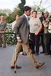 Cayetano Rivera Ordonez visits San Isidro funeral home following the death of Miguel Boyer in Madrid, Spain. September 29, 2014. (ALTERPHOTOS/Victor Blanco)